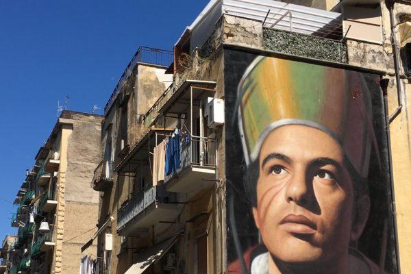 6 street art muurschilderingen in Napels die je niet mag missen