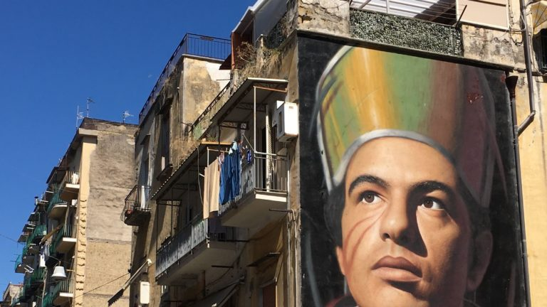 san gennaro street art napels