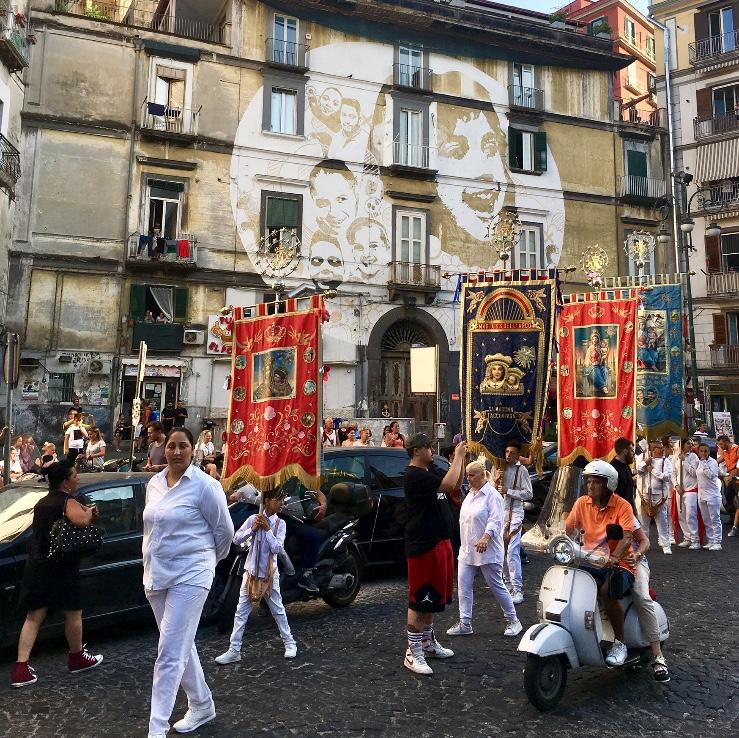 rione sanita processie