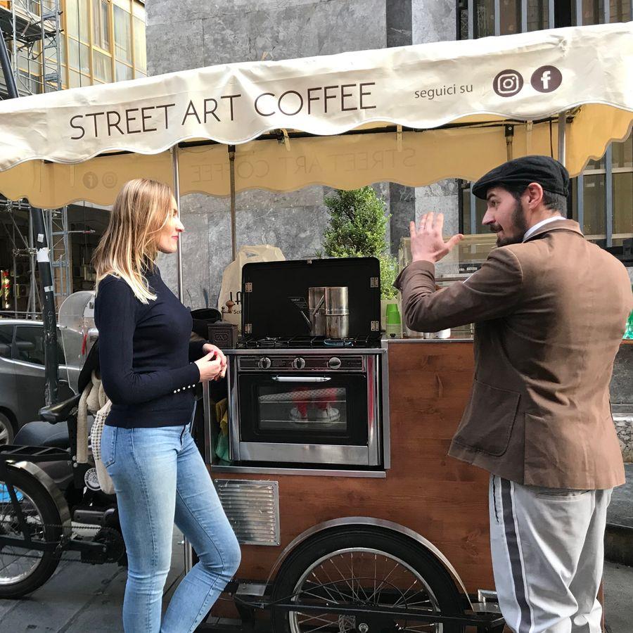 napels koffie bakfiets