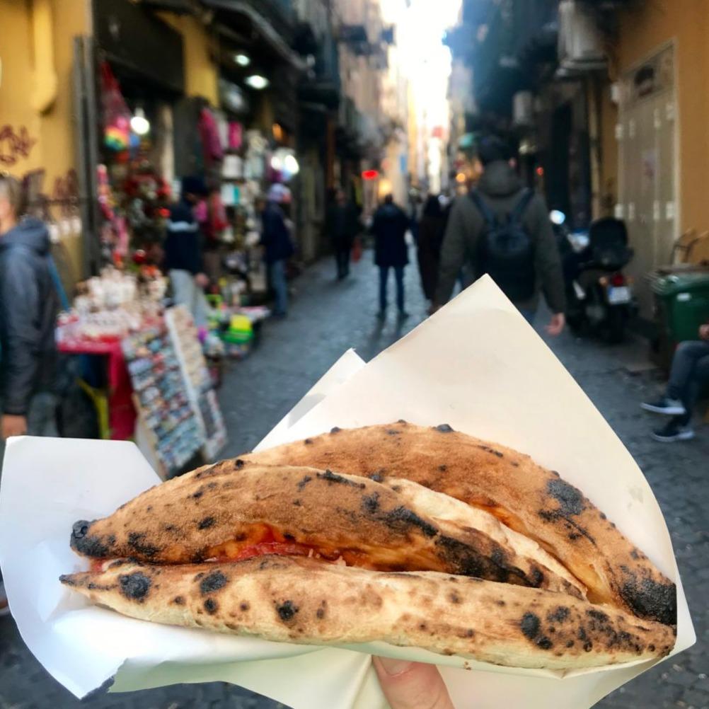 pizza portafoglio napels
