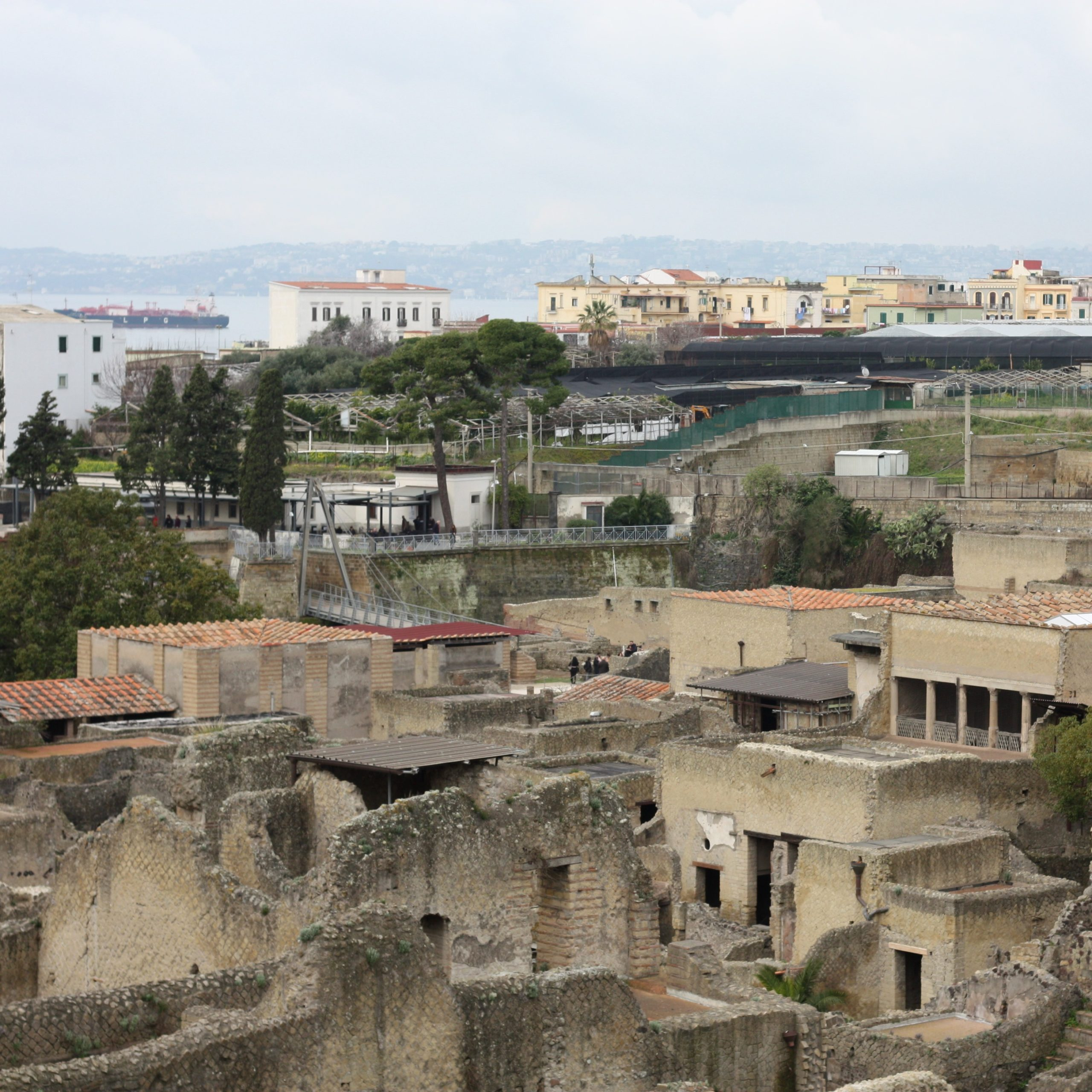 Herculaneum bezoeken