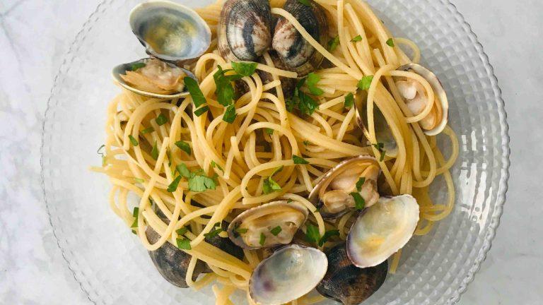 Recept voor spaghetti alle vongole