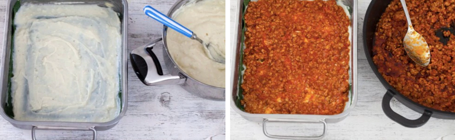 lasagne zelf maken