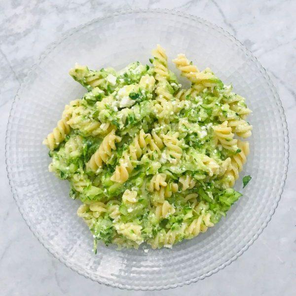 Recept Fusilli zucchine e ricotta