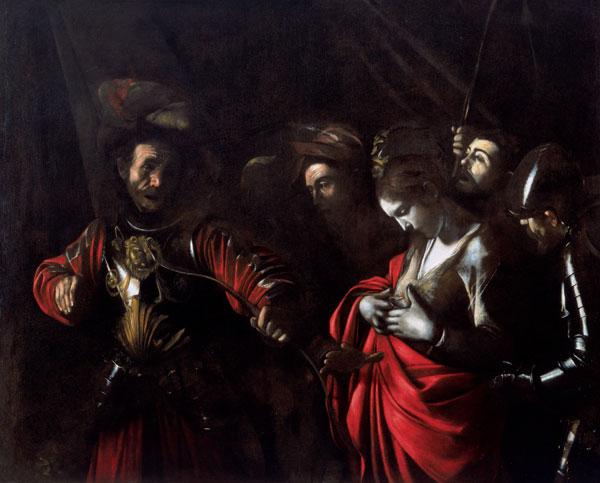Het martelaarschap van Sint Ursula Caravaggio