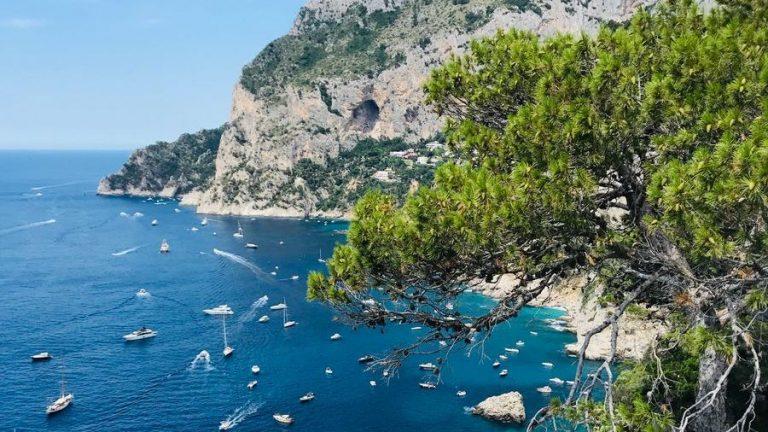 eiland capri italie