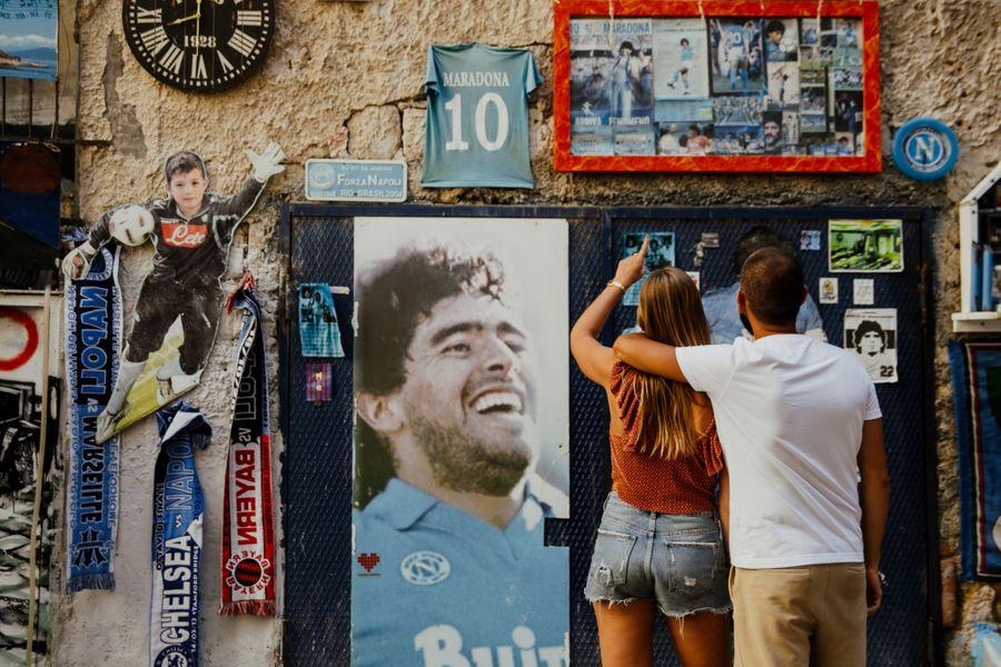 Maradona tour napels