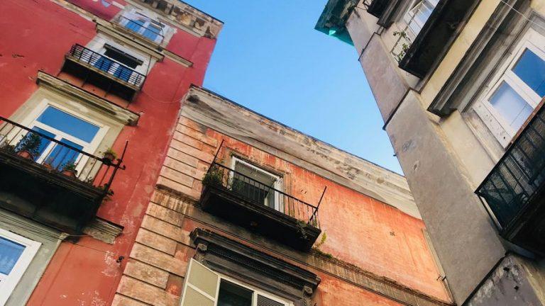gebouwen in napels