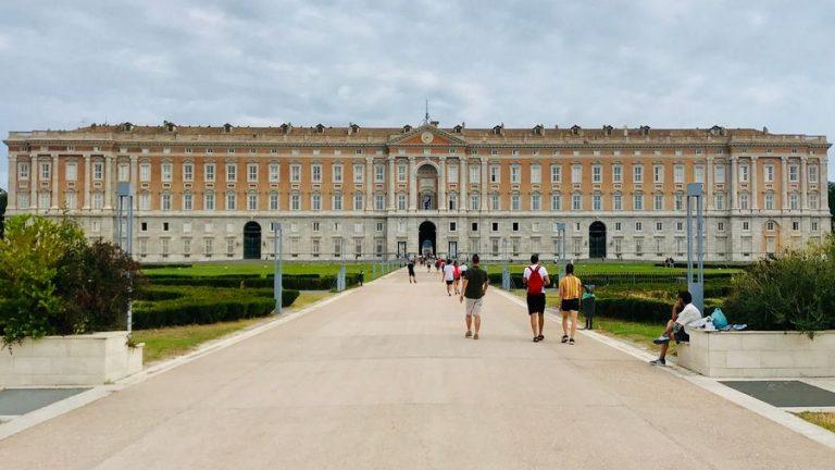 het paleis van Caserta