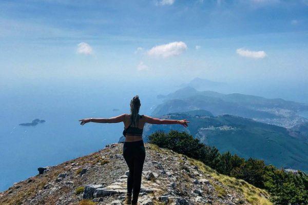 Hiken op Monte Faito