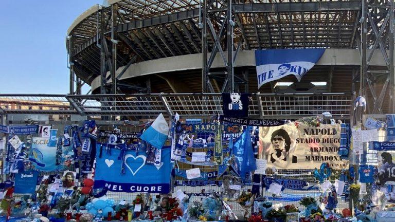 diego maradona stadion in napels