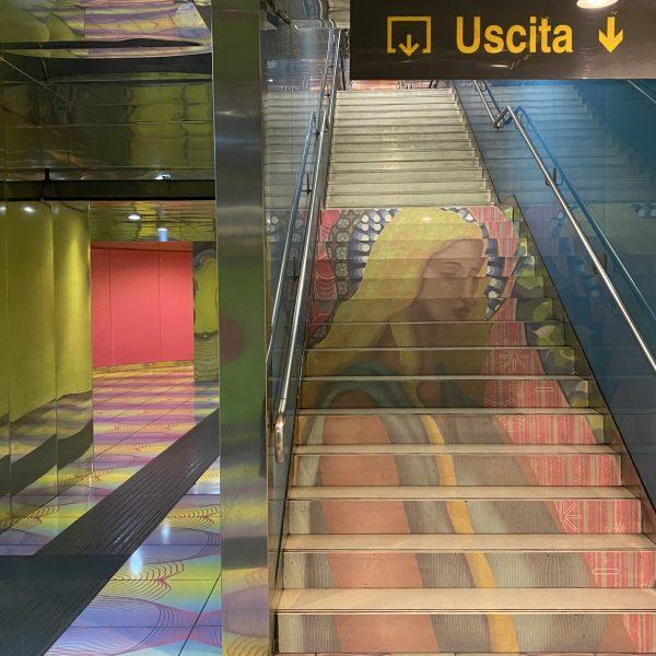 Kunst metrostations van Napels