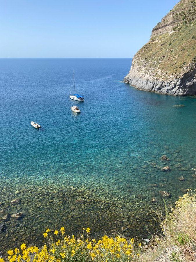 uitzicht baia di sorgeto Ischia