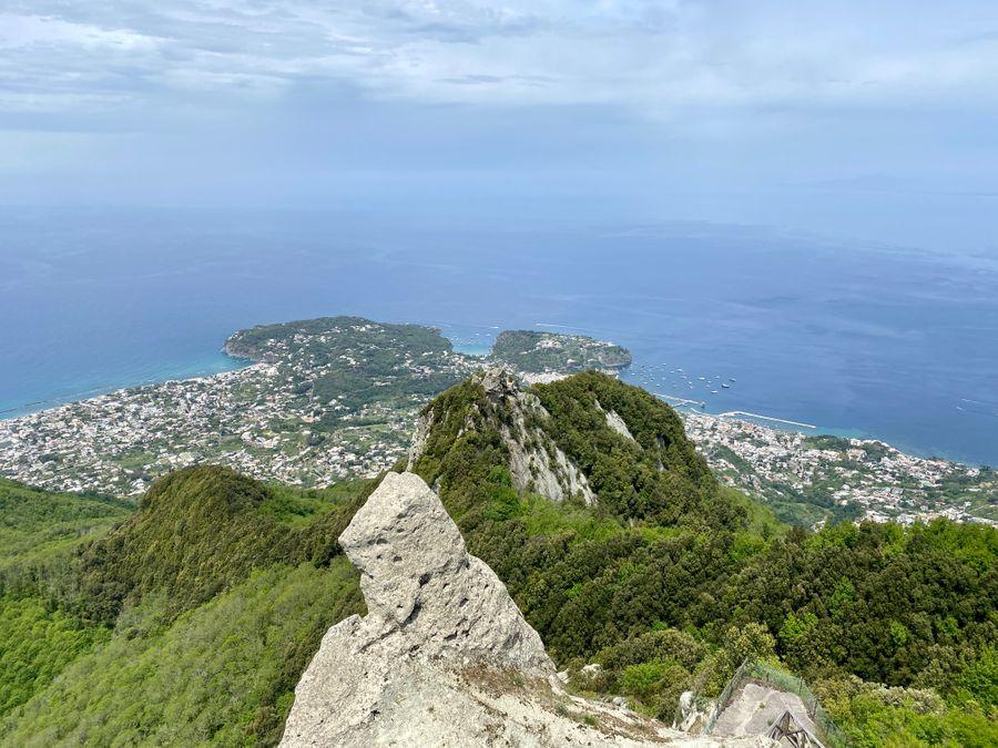 Uitzicht Monte Epomeo