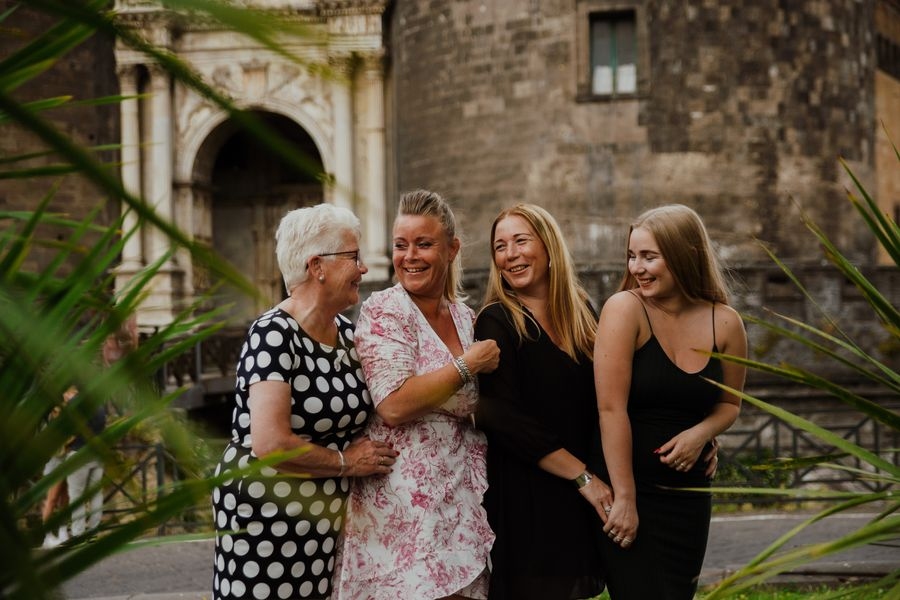 familie fotoshoot in napels