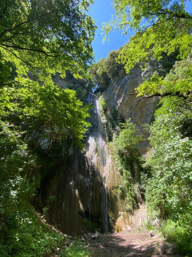 de Cascata del Canneto, Valle delle ferriere